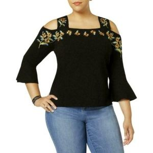 INC International Concepts Womens Sweater Floral